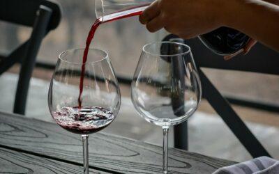 Skøn karaffel til vin